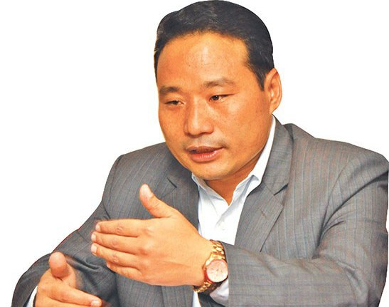 Minister Pun inspects irrigation projects