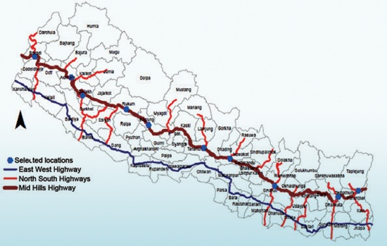 Mid-Hill highway within three years, 410km blacktopped