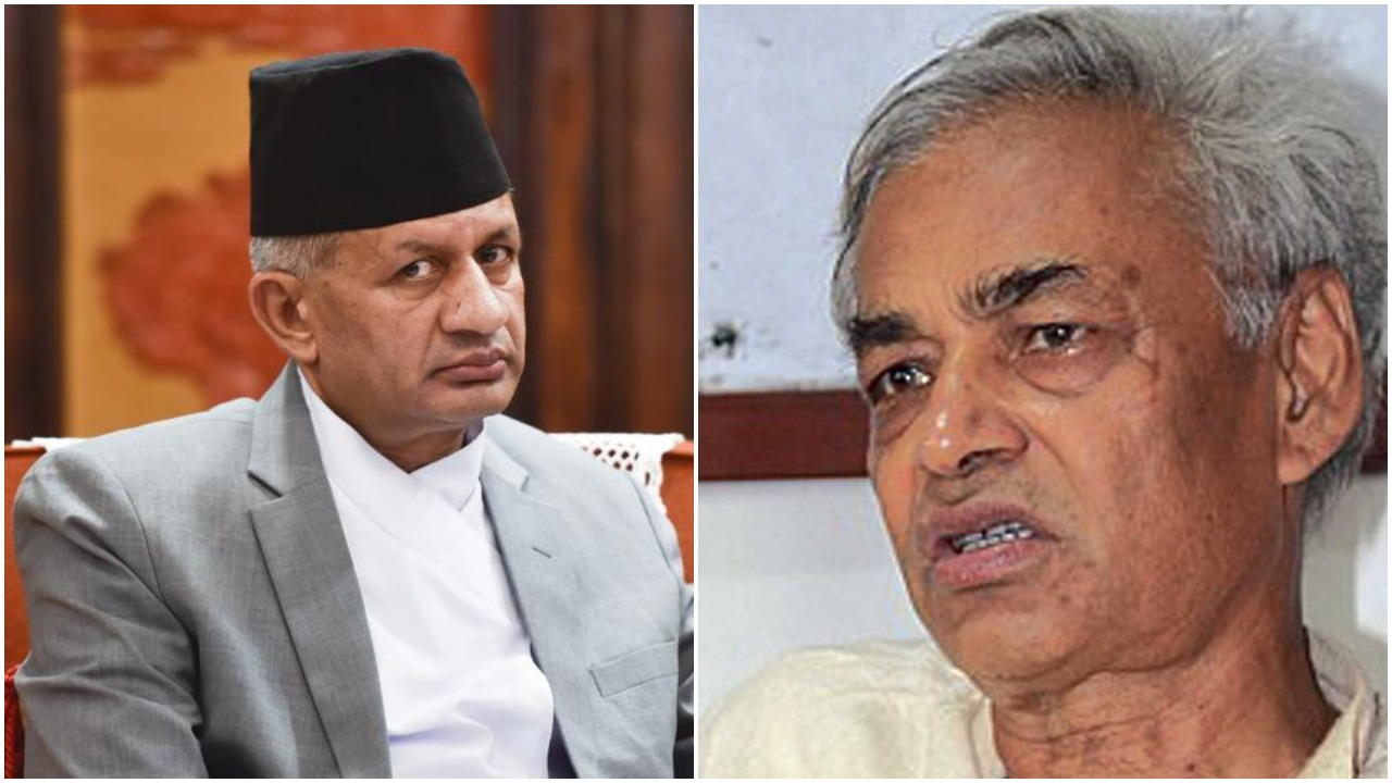 Minister Gyawali urged Giri- not to make surface comments on Kashmir issue