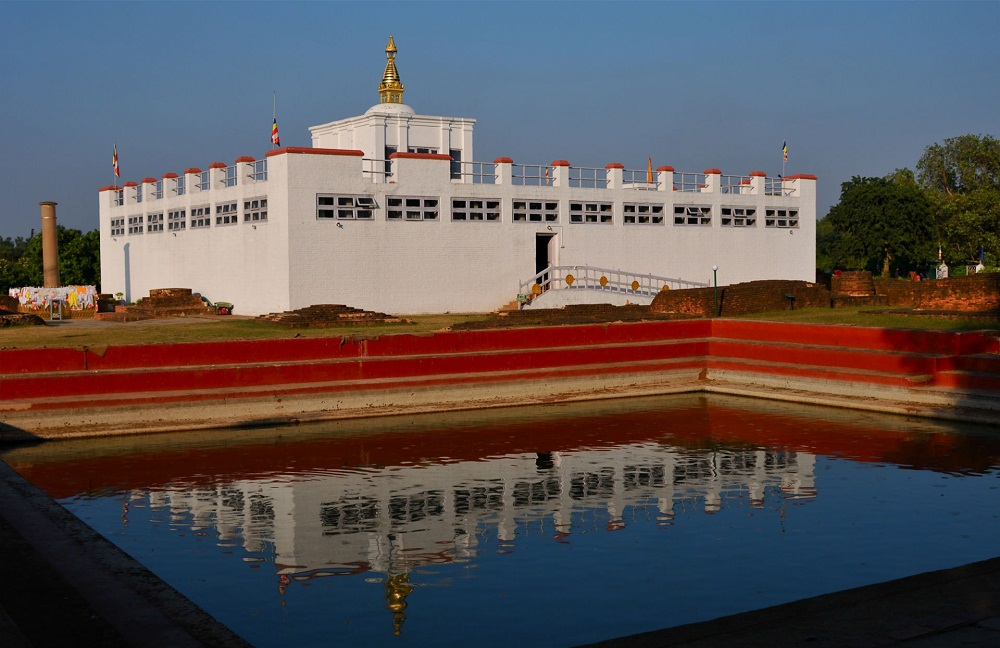 82 per cent works of Lumbini master plan complete