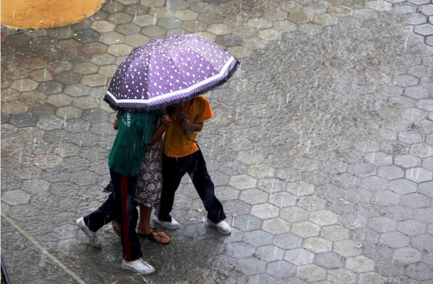 Heavy rainfall predicted in some places for three days