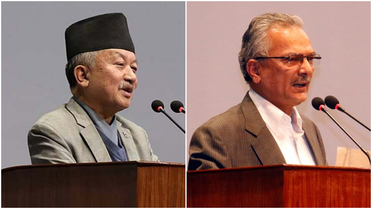 No need to worry people: Nembang, Economy in snail's pace: Bhattarai