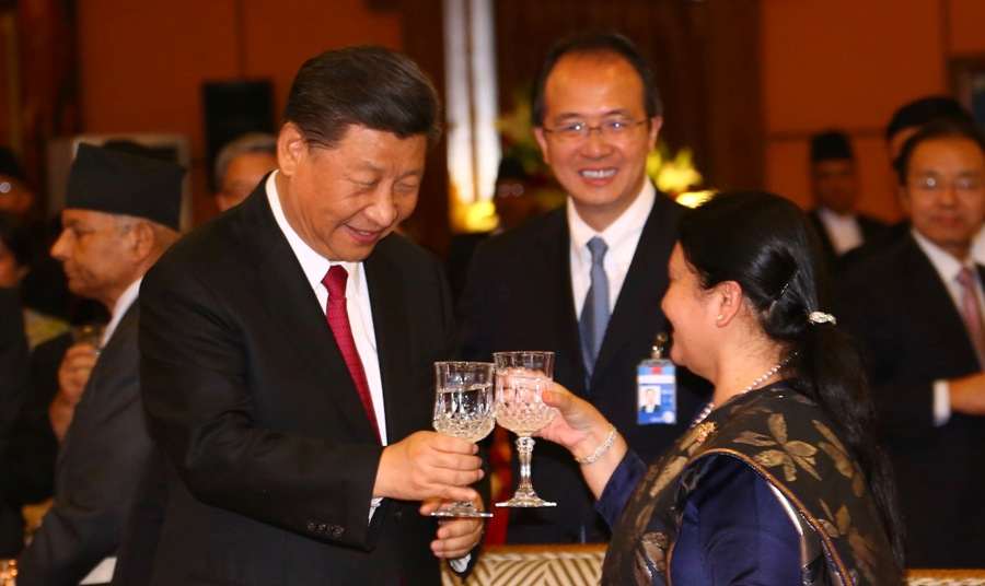 Nepal-China relation is deep as ocean and high as Mt Everest: Bhandari