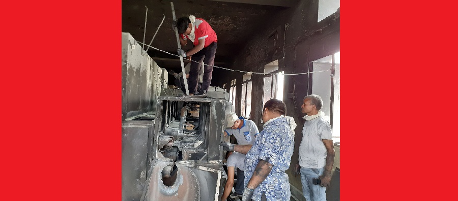Fire in NEA's sub-station causes damaged worth Rs 30 million