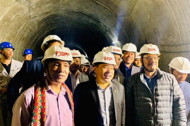 Pun inspects Bheri-Babai Diversion Project