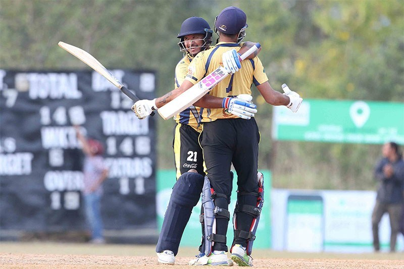 PPL Cricket: Chitwan Rhinos in final