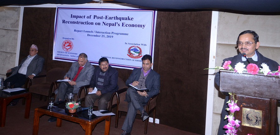 Post-quake reconstructions' positive contribution to country's economy: Report