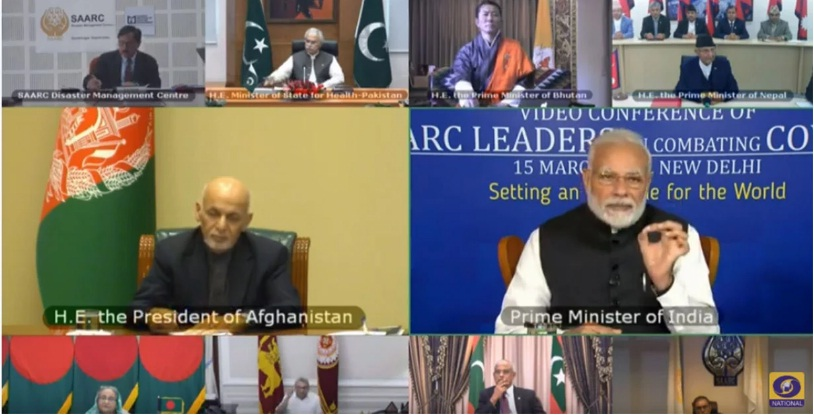 SAARC video conference against COVID-19, Oli calms extended the capacity of Nepal