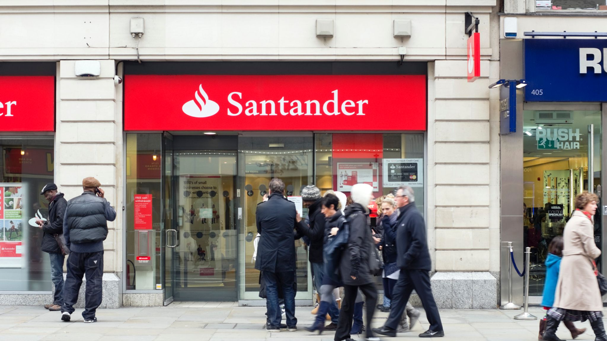 Spanish banking giant Banco Santander Tuesday
