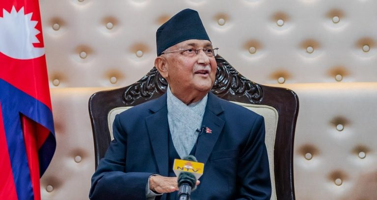 PM Oli's five tips for a Healthy Nepal