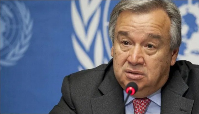 UN chief says funding of WHO, humanitarians should not be cut amid COVID-19